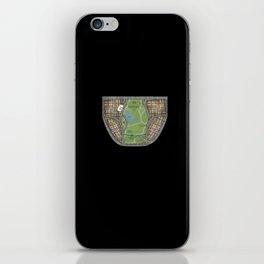 UNDERWEAR LOVE: NY UNDIES Black iPhone Skin