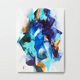 Synthesis Metal Print