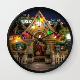 Christmas at Mickeys Wall Clock