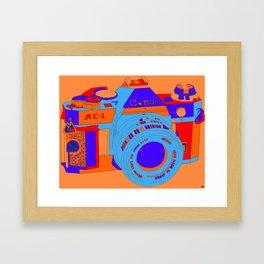 Camera Snap Framed Art Print