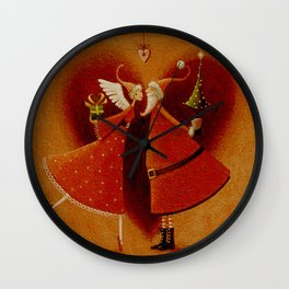 The magic of the puppy love it is to ignore that he can finish a day. Wall Clock
