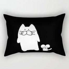 cat and mouse 501 Rectangular Pillow