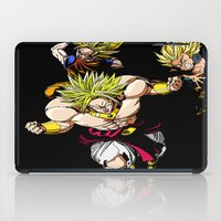dragonball iPad Cases featuring Broly Dragonball Z by bernardtime