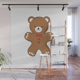 Ginger-Bear Cookie Wall Mural