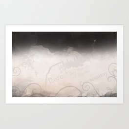 The Four Worlds Series Banner Art Print