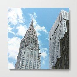Chrysler Building New York Metal Print