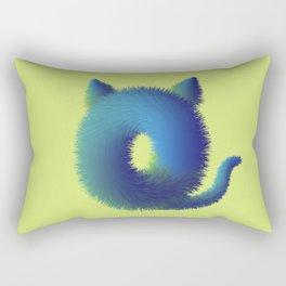 Cute furry monster Rectangular Pillow