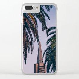 Transamerica Pyramid Clear iPhone Case