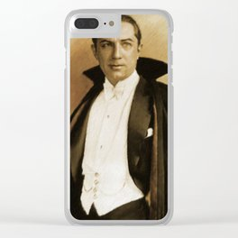 Bela Lugosi as Dracula Clear iPhone Case