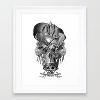 shield Framed Art Prints featuring  Shield by DIVIDUS