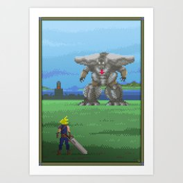 Pixel Art series 13 : The big Art Print