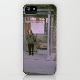 Gerard Bus Stop iPhone Case