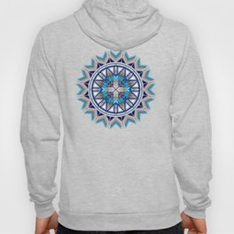 Sacred Places Blue Hoody