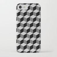 escher iPhone & iPod Cases featuring Escher by Adikt