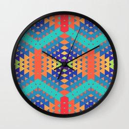 Indigena Fractal 2 Wall Clock