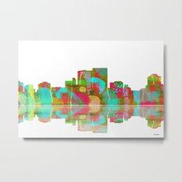 Darwin Skyline 1 Metal Print