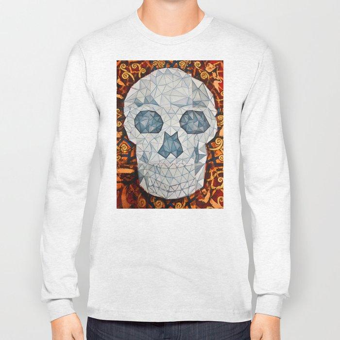 Galvanized Skull Long Sleeve T-shirt