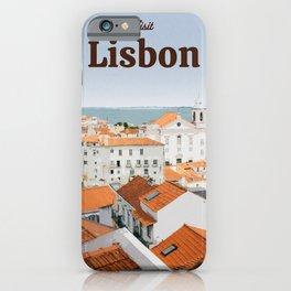 Visit Lisbon iPhone Case