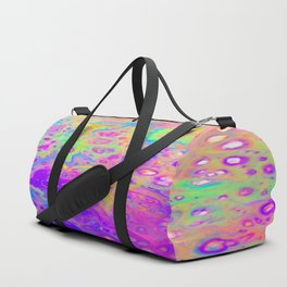 Rainbow Psychedelic Bubbles Duffle Bag