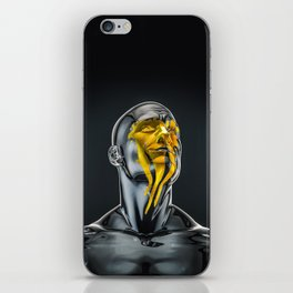 Love is the Only Gold iPhone Skin