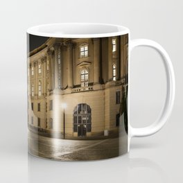 Berlin Humboldt University at Night Coffee Mug