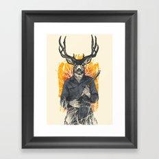Hunting Season Framed Art Print