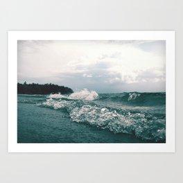 Fourth Sand Beach Art Print