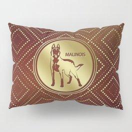 Golden Belgian Malinois - Mechelaar  - Maligator Pillow Sham