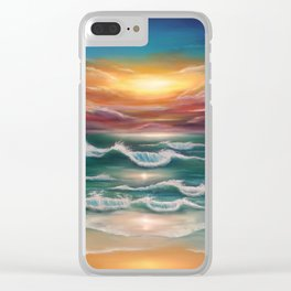 Ode to Palawan Clear iPhone Case