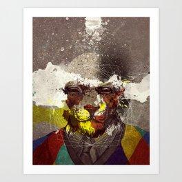 the Last Headbender Art Print