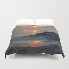 The Ft. Lauderdale Jetties Duvet Cover