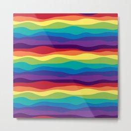 Color Flow Alt Metal Print