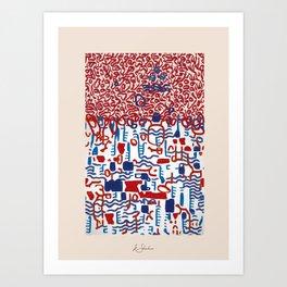 """""""Melena"""" Art Print"""