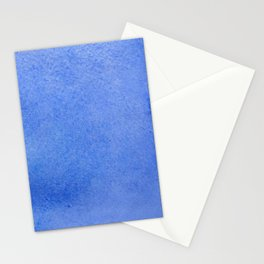 Azure watercolor Stationery Cards