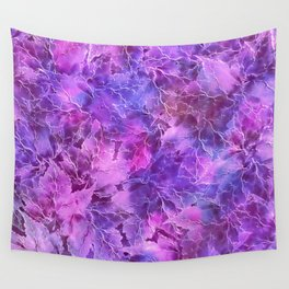 Frozen Leaves 27 Wall Tapestry