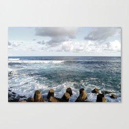 Wave Tone Canvas Print