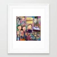 monet Framed Art Prints featuring Monet by sara aguiar