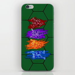 TMNT Rock iPhone Skin
