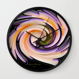 The whirl of life, W1.8B Wall Clock