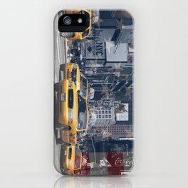 NYC - Yellow Cabs iPhone Case