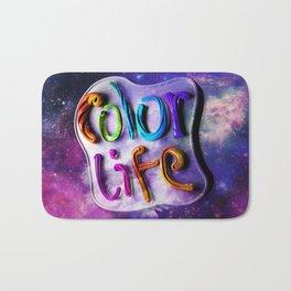 Color Life 3D Bath Mat