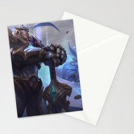 God King Garen League Of Legends Stationery Cards