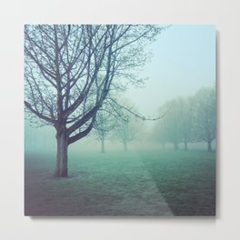 When the fog rolls in Metal Print