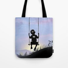 Spider Kid Tote Bag