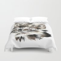 kitty Duvet Covers featuring Kitty by quackso