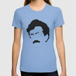 Kurt Vonnegut Minimal Black and White Illustration T-shirt