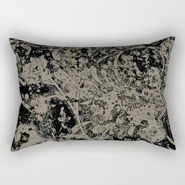 Abstract - Floral Crush Rectangular Pillow