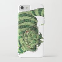 cheshire iPhone & iPod Cases featuring Cheshire by Albert F. Montoya