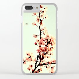 SUBTLE BLOSSOM Clear iPhone Case