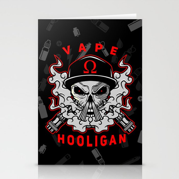 VAPE HOOLIGAN Stationery Cards